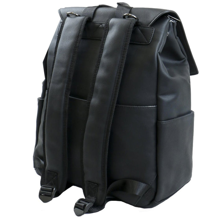 Isoki Hartley Backpack - Onyx Black | Baby Box | NZ Baby Shop