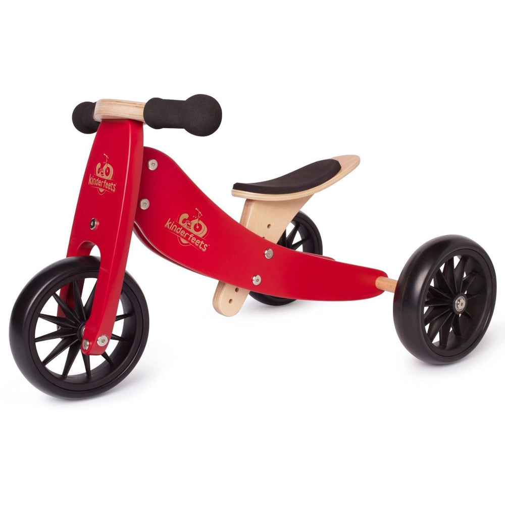 Kinderfeets Tiny Tot Bike - Cherry Red | Baby Box | NZ Baby Shop