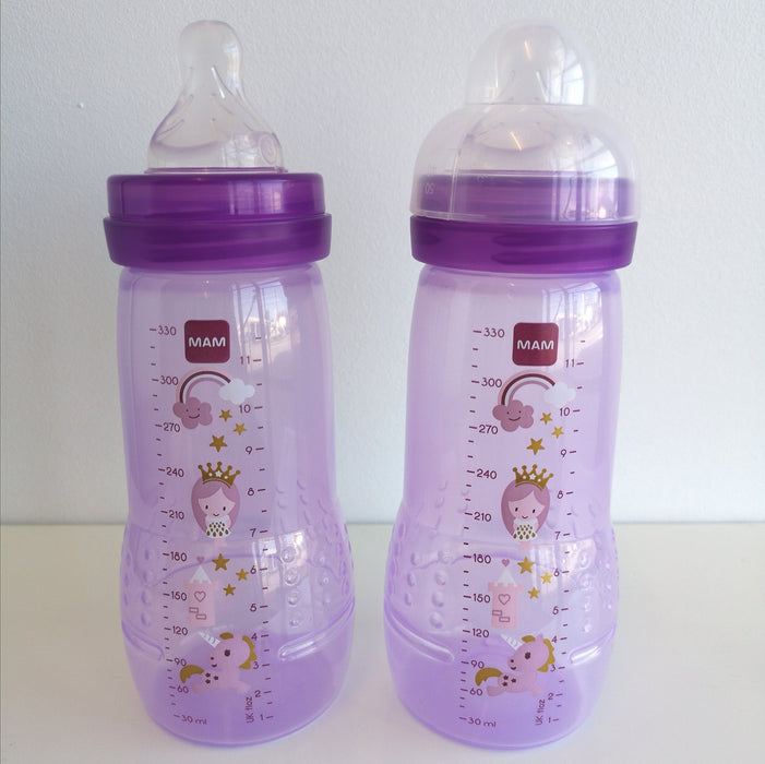 MAM Easy Active Baby Bottle - 2 pack - 4+ months | Baby Box | NZ Baby Shop