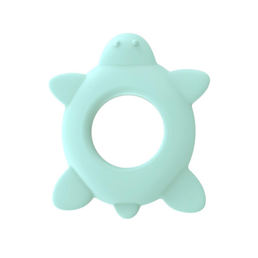 MioPlay Sensory Teething Toy - Tommy the Turtle (mint) | Baby Box | NZ Baby Shop
