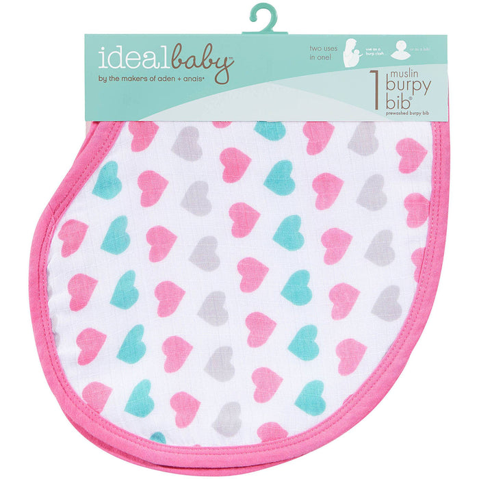Muslin Burpy Bib | Baby Box | NZ Baby Shop