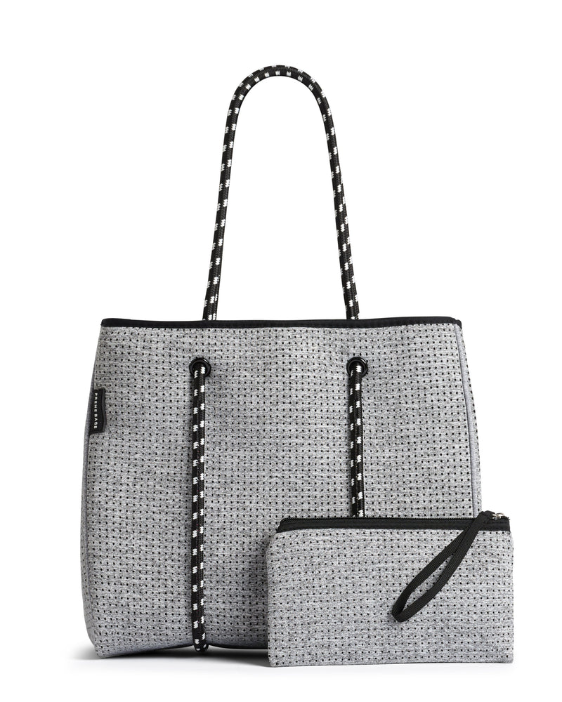 Prene Portsea Bag (Washable Handbag) - Grey | Baby Box | NZ Baby Shop