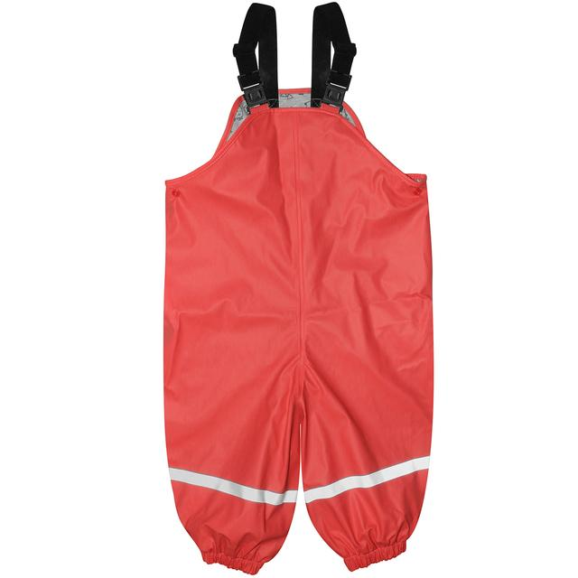 Silly Billyz Red Waterproof Overalls | Baby Box | NZ Baby Shop