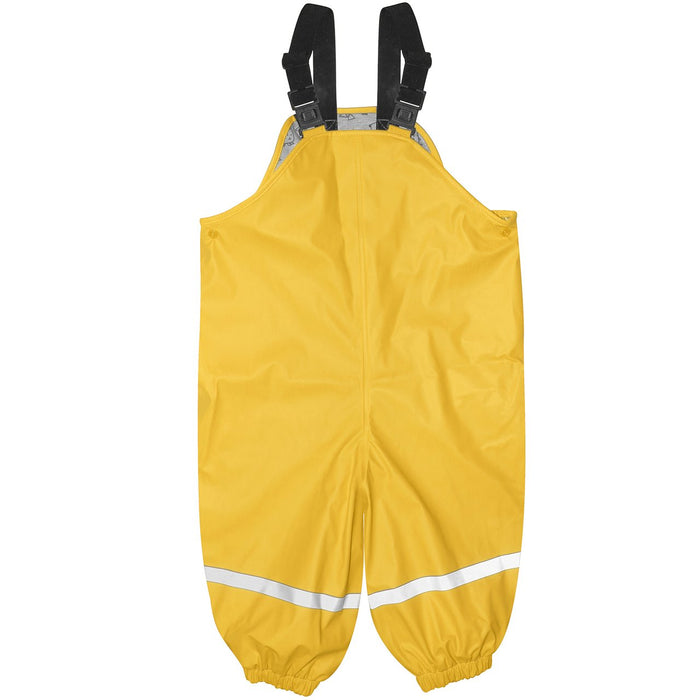Silly Billyz Yellow Waterproof Overalls | Baby Box | NZ Baby Shop