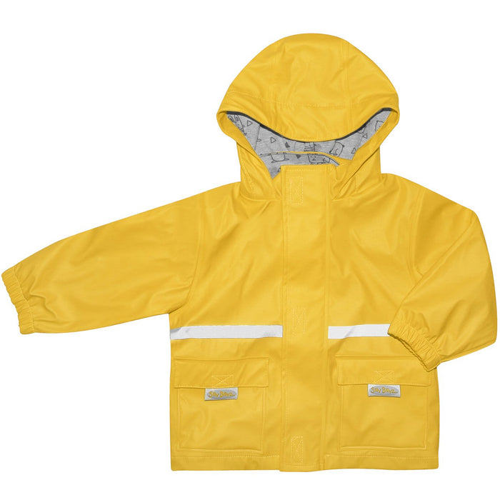 Silly Billyz Yellow Waterproof Rain Jacket | Baby Box | NZ Baby Shop