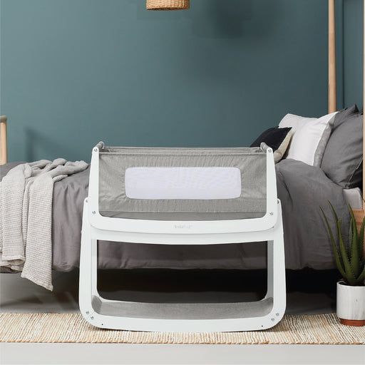 Snuzpod 4 Bassinet - Dusk Grey | Baby Box | NZ Baby Shop