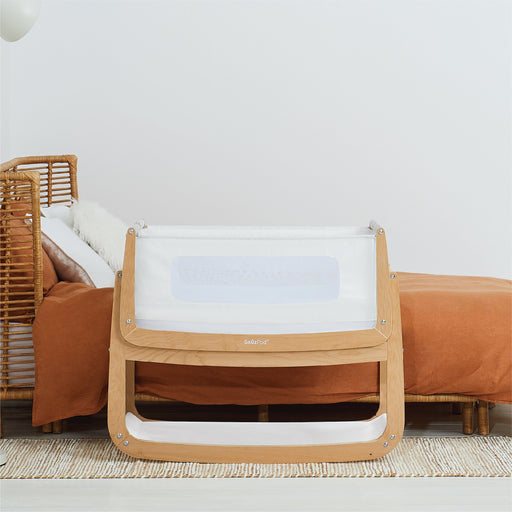Snuzpod 4 Bassinet - Natural | Baby Box | NZ Baby Shop