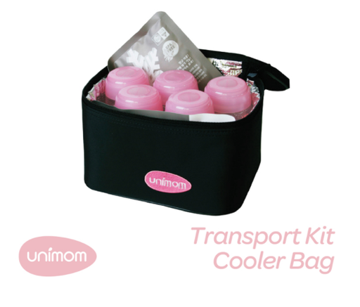 Unimom Cooler Bag and 5 Storage Bottles - Baby Box, NZ Baby Shop