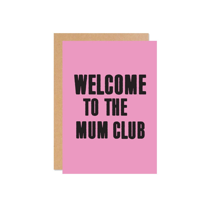 """Welcome to the Mum Club!"" Gift Card 