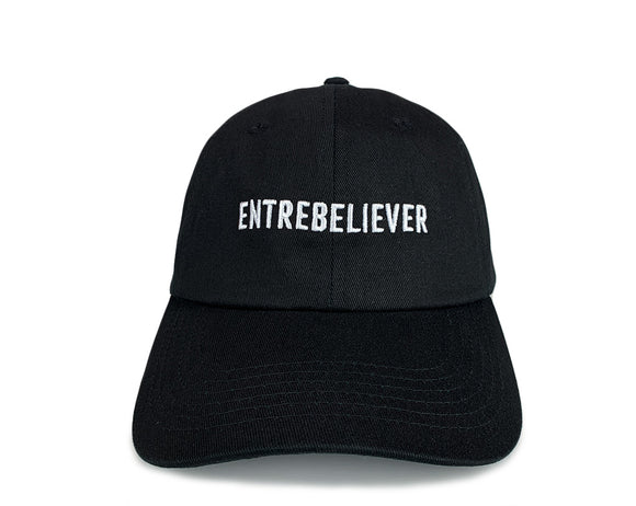 EntreBeliever Founder's Hat (Curved Brim) - Black