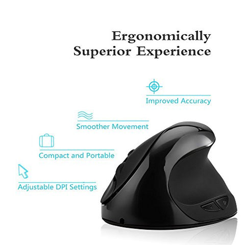 Image of Wireless Ergonomic Mouse