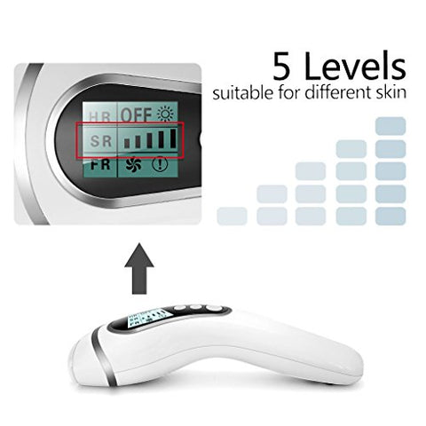 Hair Removal Laser Device Painless for Home Use