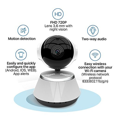 Wireless Security Camera WiFi Home IP Remote