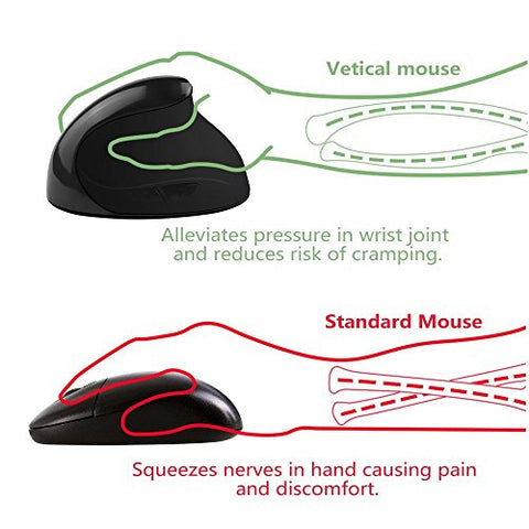 Wireless Ergonomic Mouse