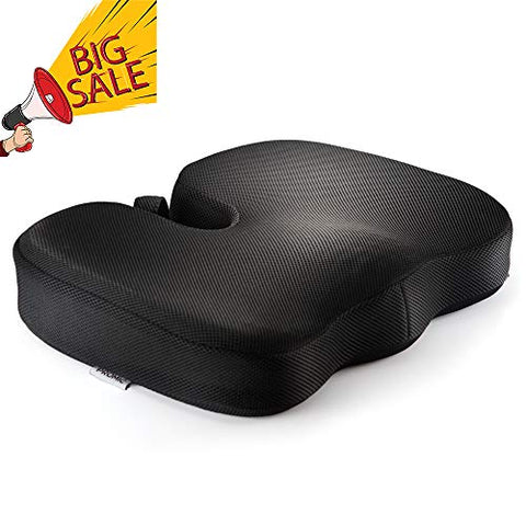 Gel Memory Foam Seat Cushion for Office Chair or Car