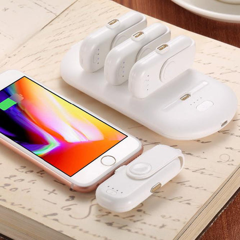 Finger Pow Power Bank Charger Mini Magnetic Charge Pack
