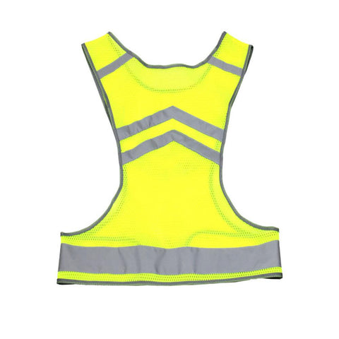 Image of Lighted Running Vest Reflective LED Running Vest Night Safety Gear