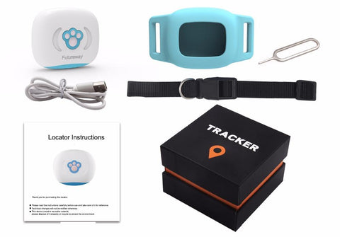 Image of GPS Cat & Dog Tracking Collar Pet Tracker