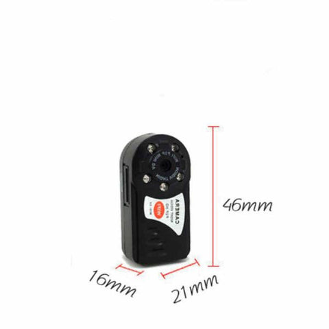 Image of Mini Wi-Fi DVR Wireless IP Night Vision Spy Camera