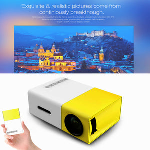 LUMI™ ULTRA HD PRO 2.0 Mini Portable Projector