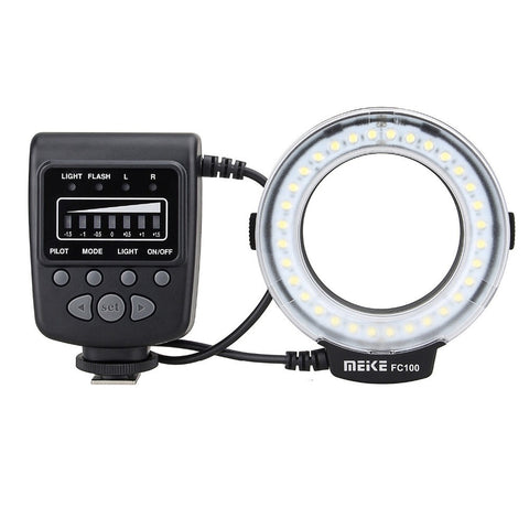 Image of Macro Ring Flash Light for Nikon Canon Olympus