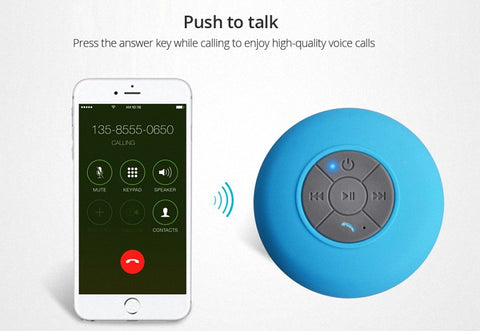 Mini Shower Wireless Bluetooth Speaker