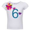 Short Sleeve 6th Birthday Shirt