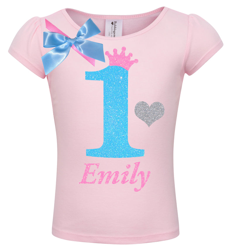 1st Birthday Shirt - Sweet Candy Cotton - Shirt - Bubblegum Divas Store