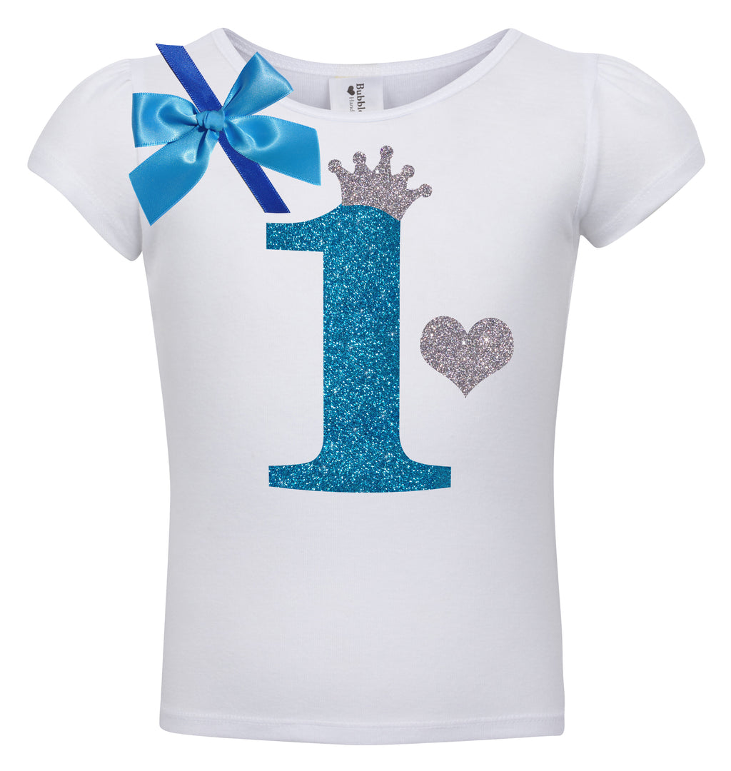 1st Birthday Shirt - Blueberry Bliss - Shirt - Bubblegum Divas Store