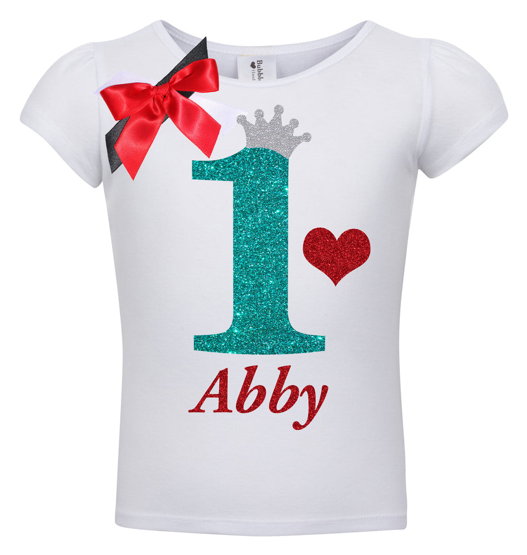 1st Birthday Shirt - Sweet Cherry Pie - Shirt - Bubblegum Divas Store
