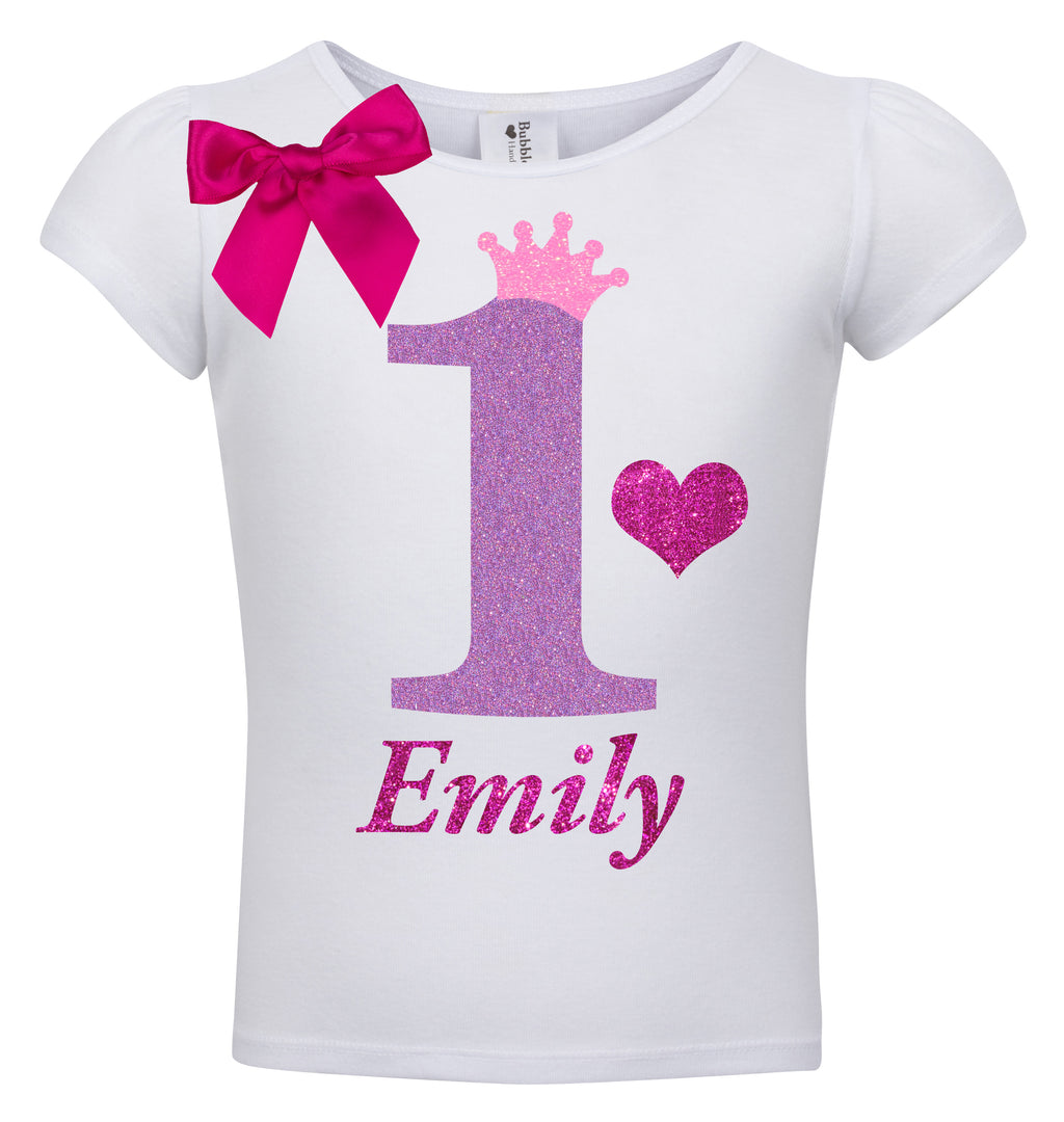 1st Birthday Shirt - Snizzle Berry - Shirt - Bubblegum Divas Store