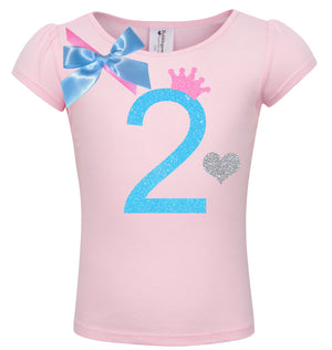 2nd Birthday Shirt - Sweet Candy Cotton - 2nd Birthday - Bubblegum Divas Store