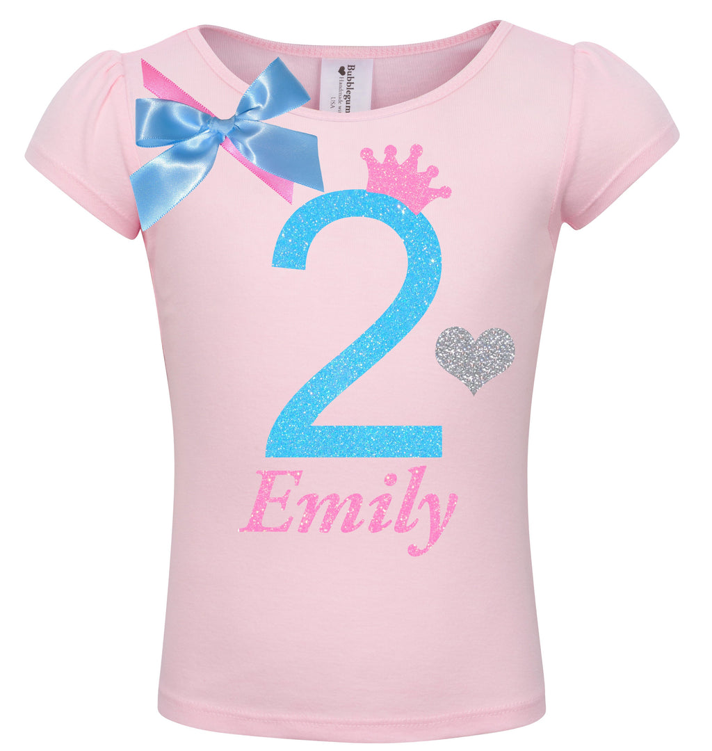 2nd Birthday Shirt - Sweet Candy Cotton - Shirt - Bubblegum Divas Store
