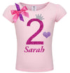 2nd Birthday Shirt - Bubble Berry Sparkle - Shirt - Bubblegum Divas Store
