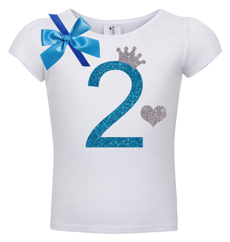 2nd Birthday Shirt - Blueberry Bliss - Shirt - Bubblegum Divas Store
