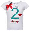 2nd Birthday Shirt - Sweet Cherry Pie - Shirt - Bubblegum Divas Store