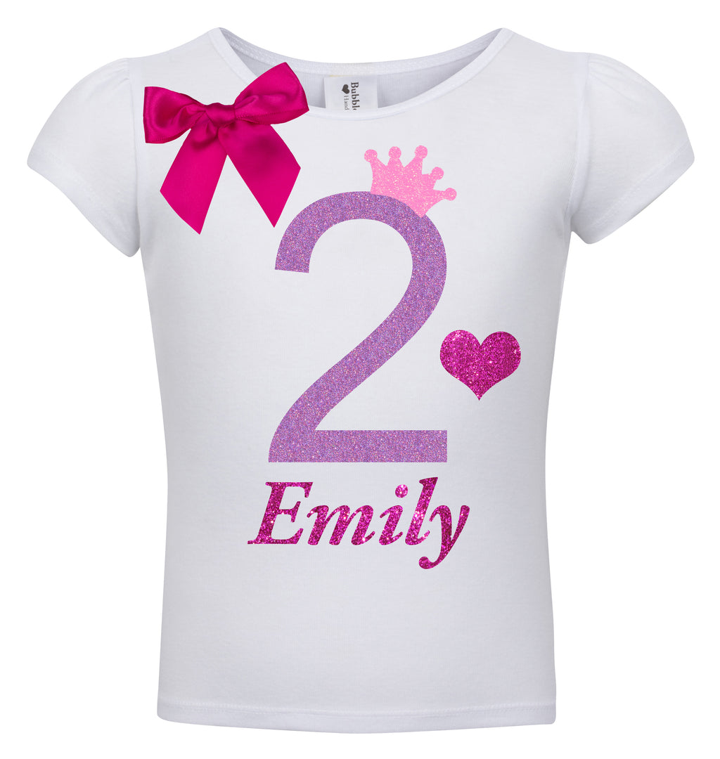 2nd Birthday Shirt - Snizzle Berry - Shirt - Bubblegum Divas Store