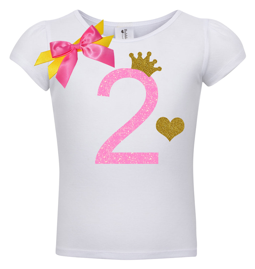 2nd Birthday Shirt - Pink Sugar Diva - Shirt - Bubblegum Divas Store