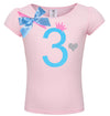 3rd Birthday Shirt - Sweet Candy Cotton - Shirt - Bubblegum Divas Store