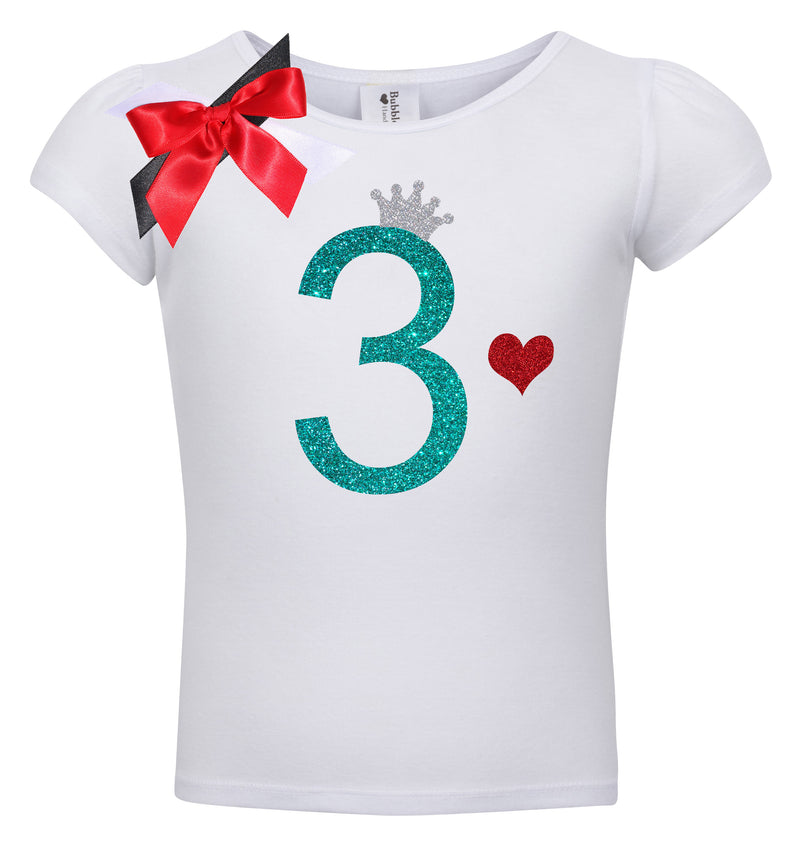 3rd Birthday Shirt - Sweet Cherry Pie - Shirt - Bubblegum Divas Store