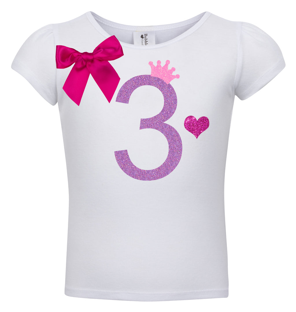 3rd Birthday Shirt - Snizzle Berry - Shirt - Bubblegum Divas Store