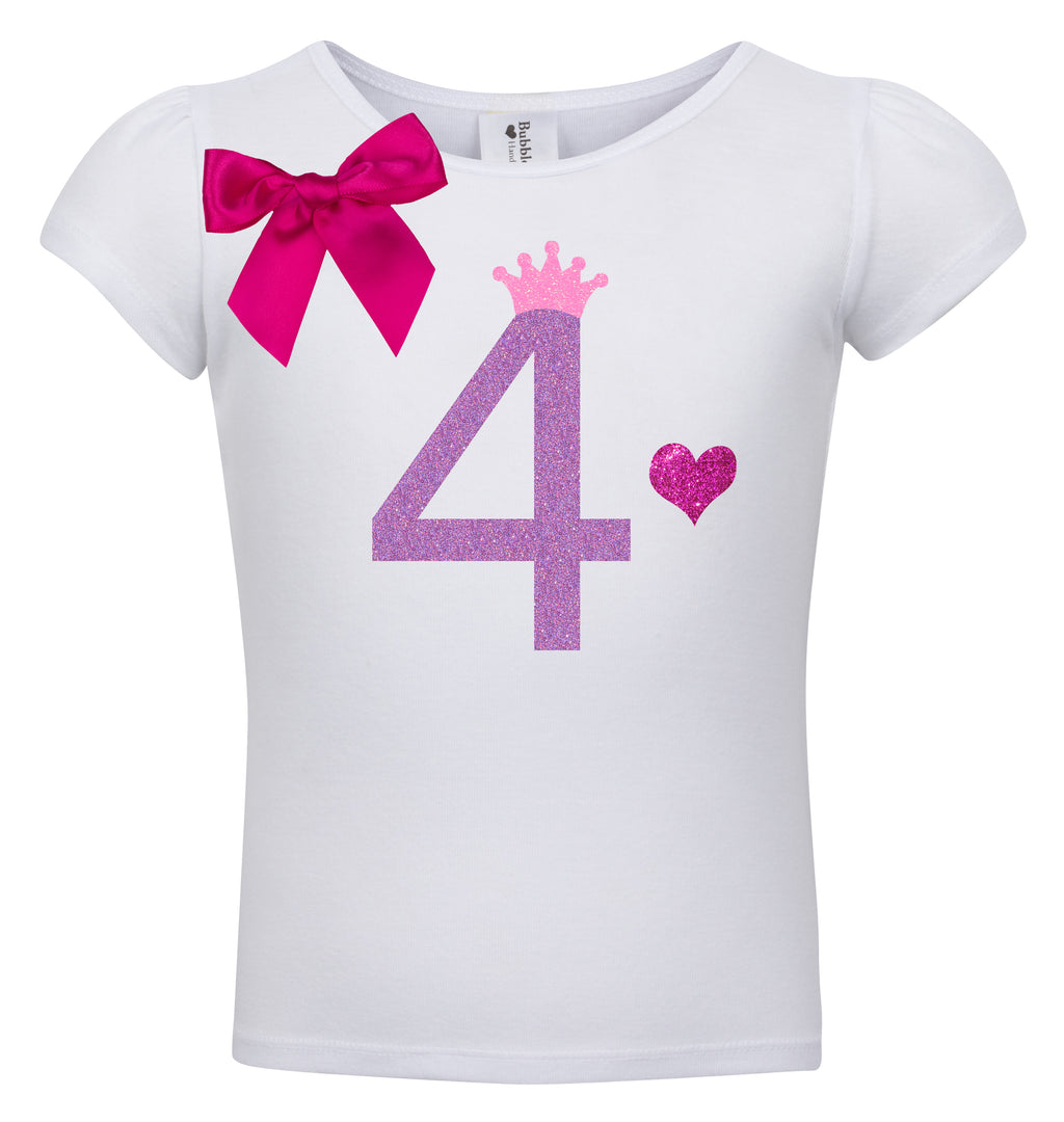 4th Birthday Shirt - Snizzle Berry - Shirt - Bubblegum Divas Store