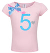 5th Birthday Shirt - Sweet Candy Cotton - Shirt - Bubblegum Divas Store