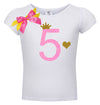 5th Birthday Shirt - Pink Sugar Diva - Shirt - Bubblegum Divas Store