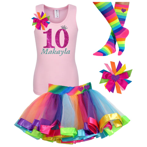 10th Birthday Outfit - Pink Butterfly