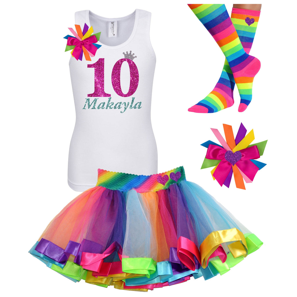 10th Birthday Outfit - Bubble Berry Sparkle - Outfit - Bubblegum Divas Store