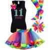 11th Birthday Outfit - Green Apple Twist - Outfit - Bubblegum Divas Store