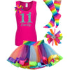 11th Birthday Outfit - Bubble Berry Sparkle