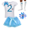 2nd Birthday Outfit -  Blueberry Bliss - Outfit - Bubblegum Divas Store
