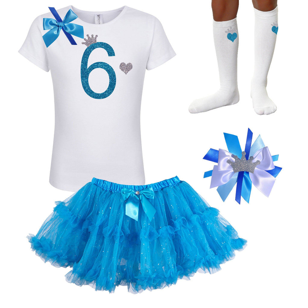 Blueberry Bliss 6th Birthday - Outfit - Bubblegum Divas Store